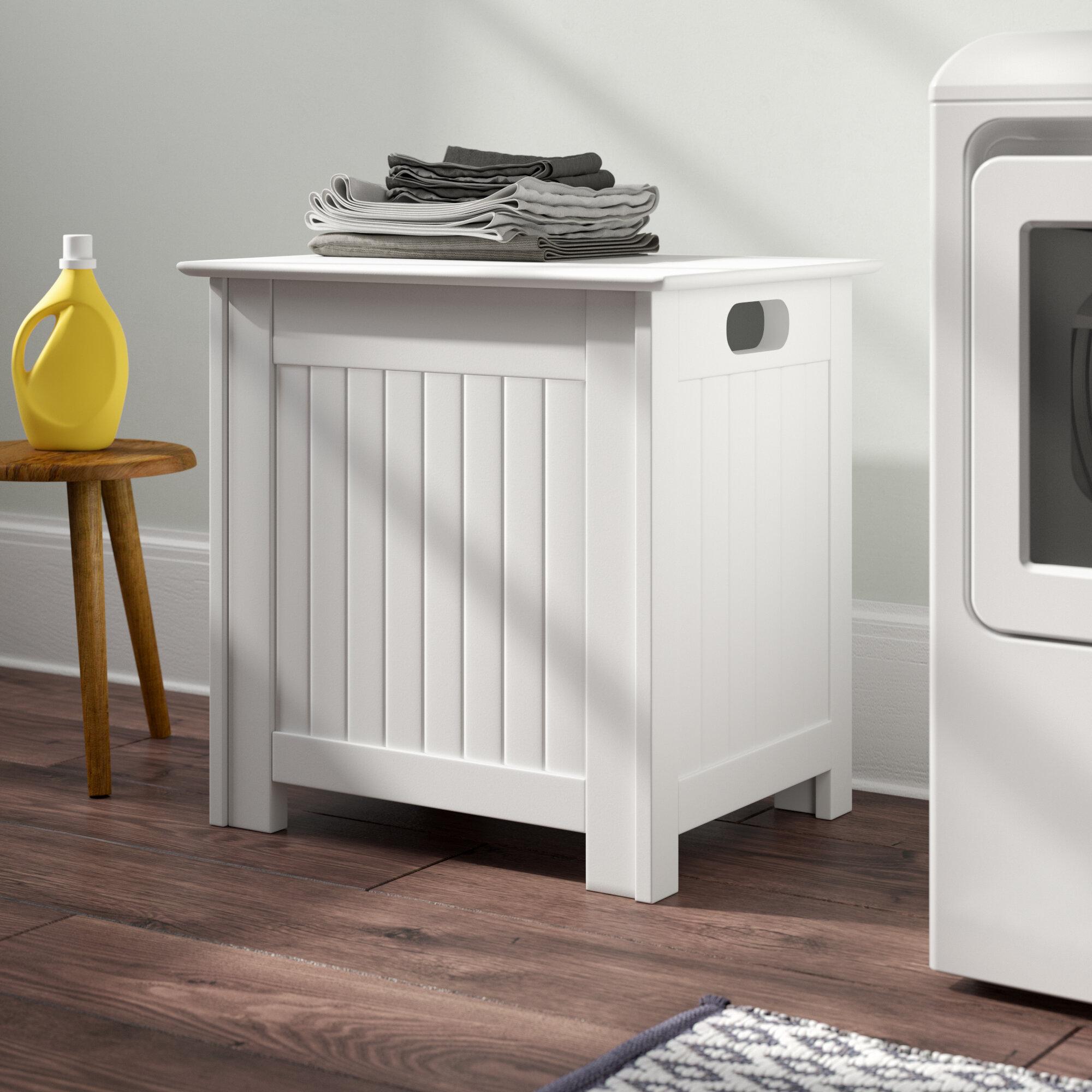 Belfry Bathroom Cabinet Laundry Bin