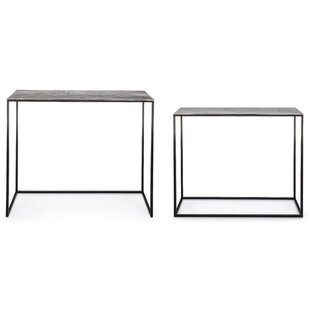 Gamble 2 Piece Console Table Set By Bloomsbury Market