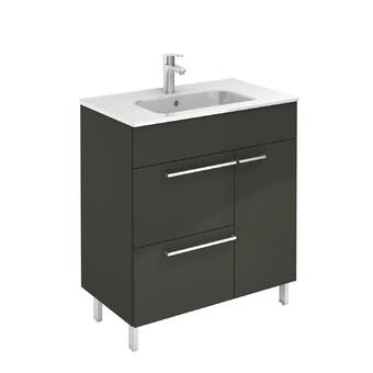 Orren Ellis Dermott 20 Wall Mounted Single Bathroom Vanity Set With Mirror Wayfair