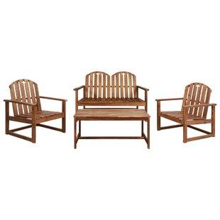 Contreras 4 Seater Sofa Set By Sol 72 Outdoor