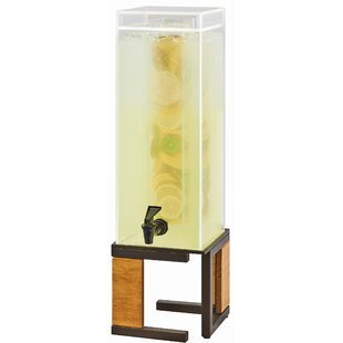 Courson Square 384 Oz. Beverage Dispenser by Red Barrel Studio Savings