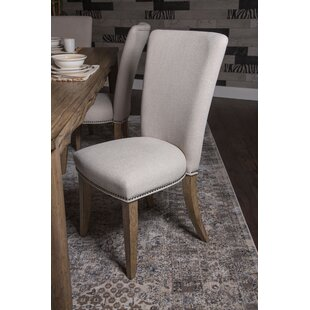 Del Mar Sound Upholstered Side Dining Chair In Boardwalk By Michael Amini