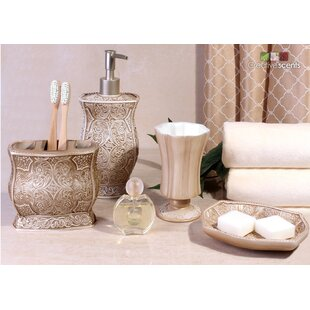 Astoria Grand Terrence 4-Piece Bathroom Accessory Set
