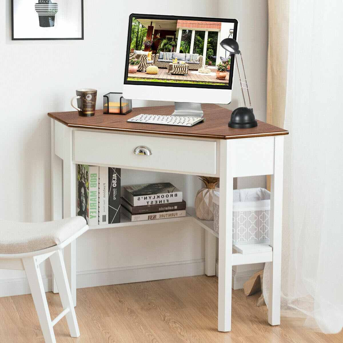 Corner White Desks You Ll Love In 2020 Wayfair