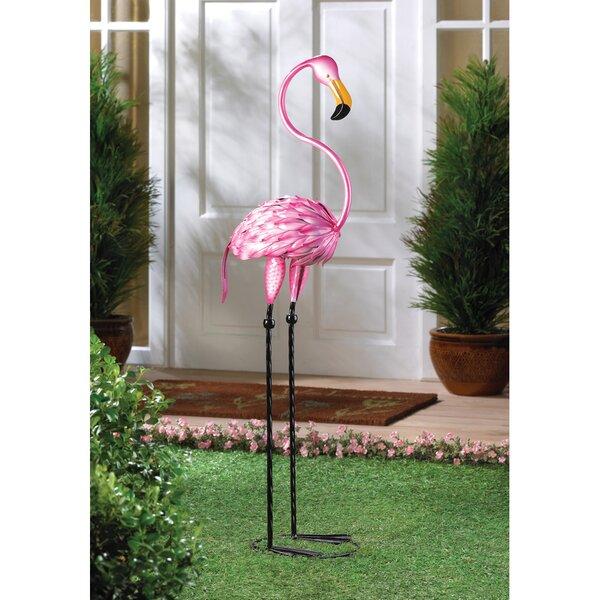Pink Flamingo Lawn Ornament Wayfair