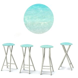 Check Prices 30 inch  Patio Bar Stool with Cushion (Set of 4) Great Price
