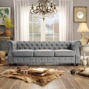 Stowmarket Tufted Chesterfield Sofa