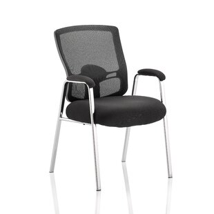 Mid-Back Mesh Office Chair With Arms By Symple Stuff