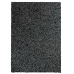 Shag Dark Grey Rug by Carpet City
