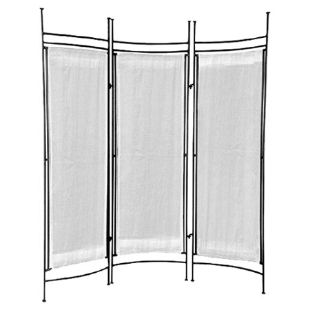 Privacy Screen 3 Panel Room Divider