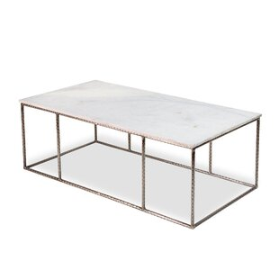 Interlude Manchester Marble Coffee Table