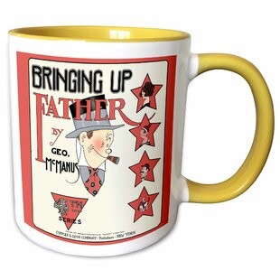 056959192f4 Klassen Copy of a 1921 Cartoon Comic Book Cover of Bringing up Father with  Maggie and Jiggs Series 4 Coffee Mug