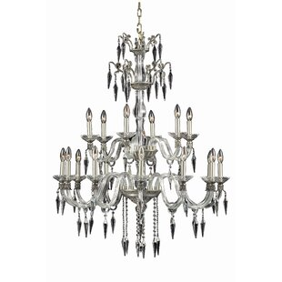 Rosdorf Park Shaina 18-Light Chandelier