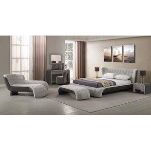 Everly Quinn Latrell Platform Configurable Bedroom Set