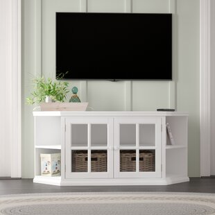 Highland Dunes Galles Corner TV Stand for TVs up to 65