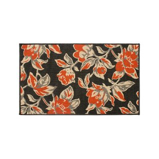 Jaya Carlisle Orange Indoor/Outdoor Area Rug