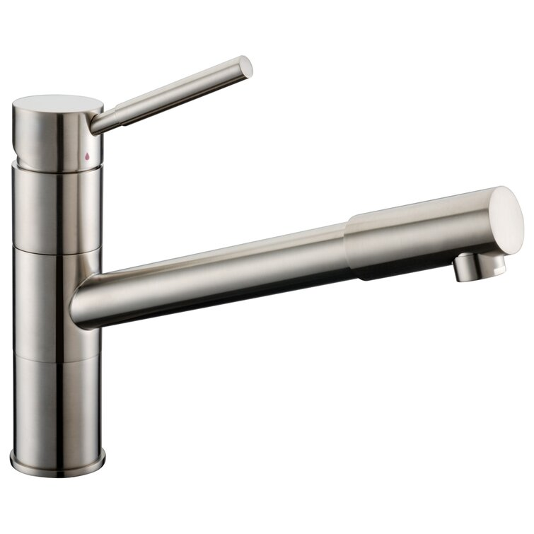 Dawn Usa Single Handle Deck Mount Kitchen Faucet With Pull Out Hose Faucet Head Reviews Wayfair