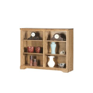 Savings Rex Standard Bookcase by Millwood Pines