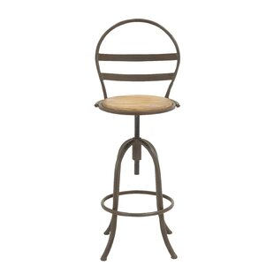Adjustable Height Bar Stool Cole & Grey