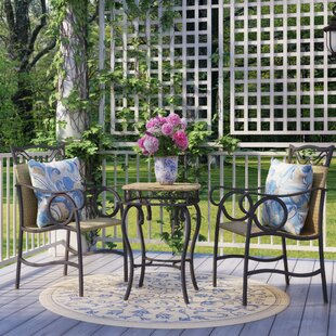 Stapleton 3 Piece Bistro Set by Charlton ..