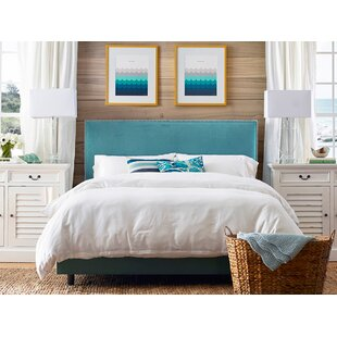 Skyline Furniture Marlo Upholstered Panel Bed