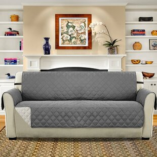 Diamond T-Cushion Sofa Slipcover