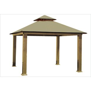 ACACIA 14 Ft. W x 14 Ft. D Aluminum Patio Gazebo by Riverstone Industries