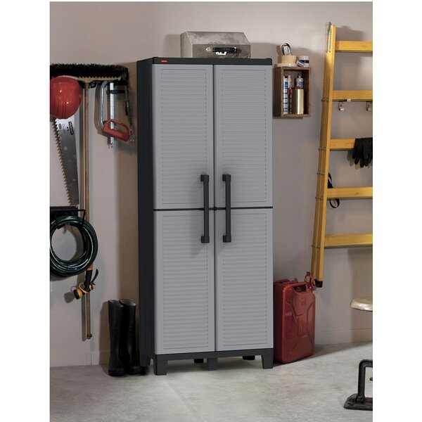 "Keter Space Winner 67.5"" H X 27"" W X 15"" D Tall Utility Storage Cabinet & Reviews by Keter"