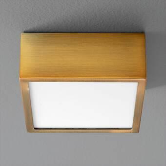 Birch Lane Madge 4 Light 14 Lantern Square Semi Flush Mount Reviews Wayfair