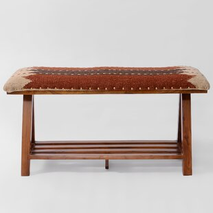 Seery Upholstered Storage Bench by World Menagerie No Copoun
