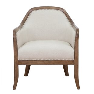 Vonda Barrel Chair by Gracie Oaks