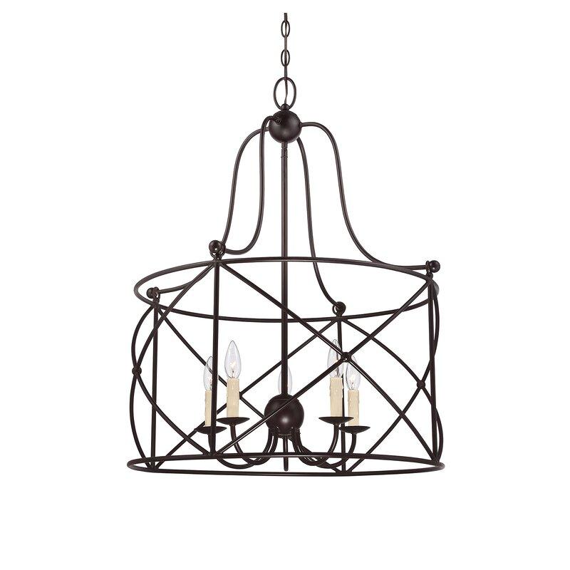 Delia 5 Light Lantern Pendant Reviews
