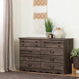 South Shore Prairie 8 Drawer Double Dresser