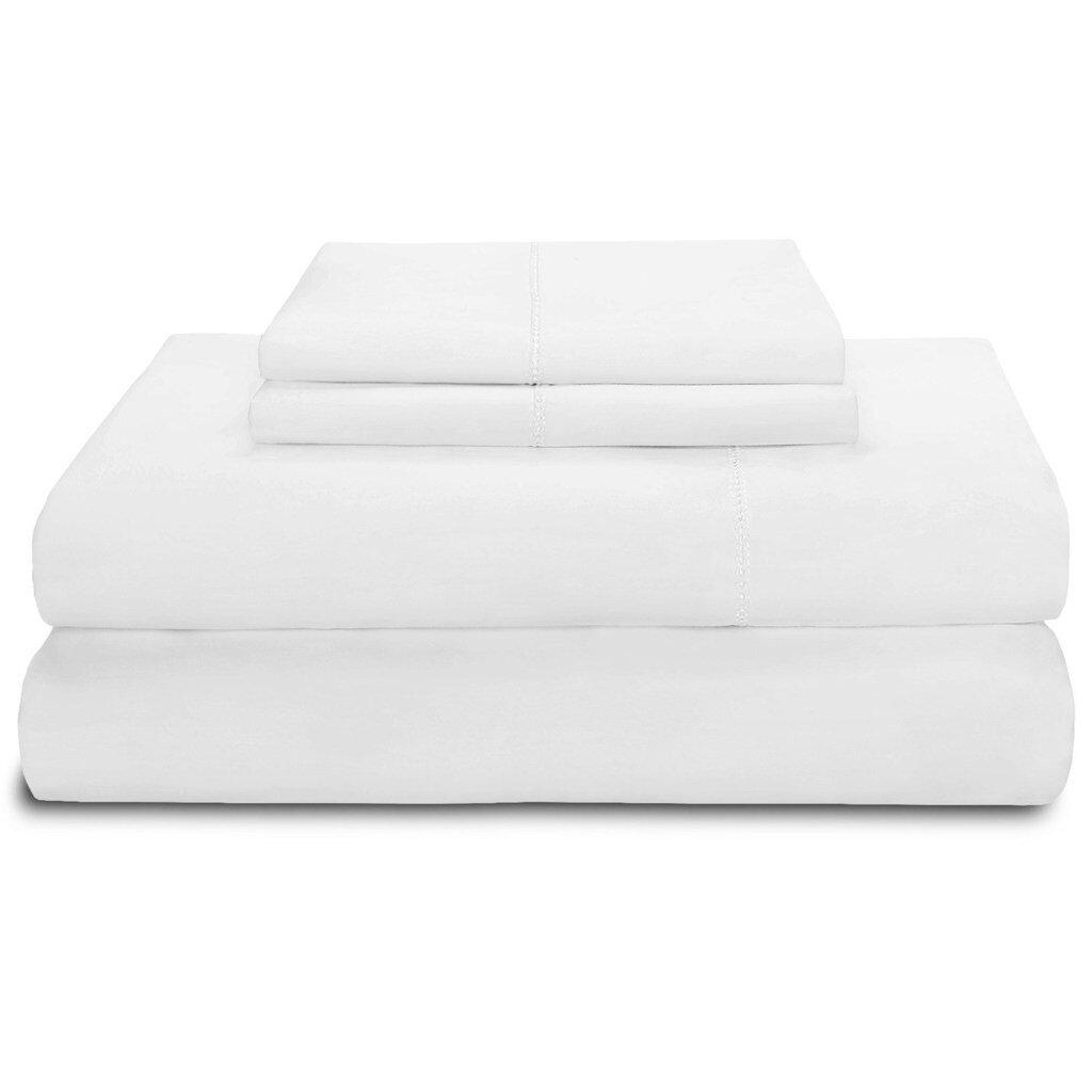Vivendi Supima Cotton 600 Thread Count Sheet Set U0026 Reviews | Wayfair