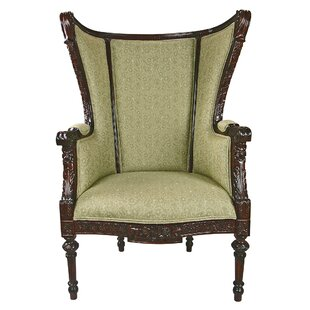 Design Toscano Louis XVI Wingback Chair