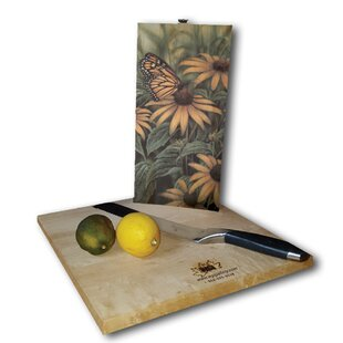 Monarch Butterfly 12 x 6 Cutting Board By WGI-GALLERY