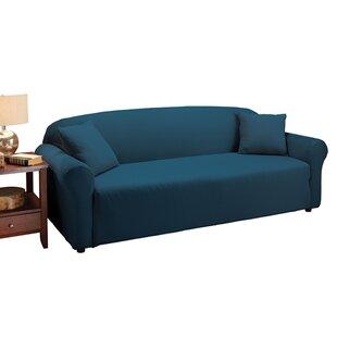 Floral Box Cushion Sofa Slipcover Andover Mills