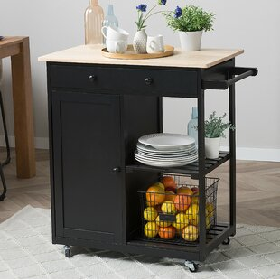 Todd Kitchen Cart Canora Grey