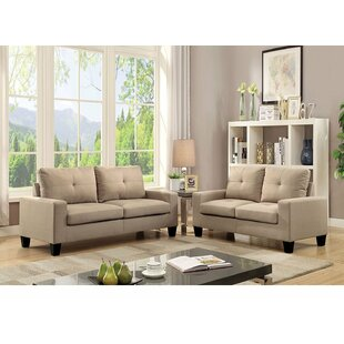 Fitzwater Buttonless Tufted Seat and Backrest Living Room Set by Latitude Run