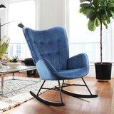 Miraculous Queen Anne Rocking Chair Wayfair Gamerscity Chair Design For Home Gamerscityorg