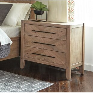 Scott Living 3 Drawer Nightstand