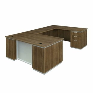 Pimlico U-Shape Executive Desk by Flexsteel Contract Comparison
