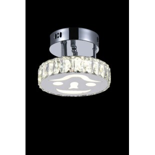 CWI Lighting Expression 9-Light LED Flush Mount