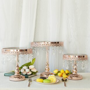 Wayfair Crystal Cake Tiered Stands You Ll Love In 2021