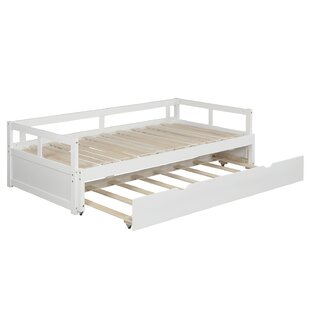 Bjrk Twin Bed with Trundle