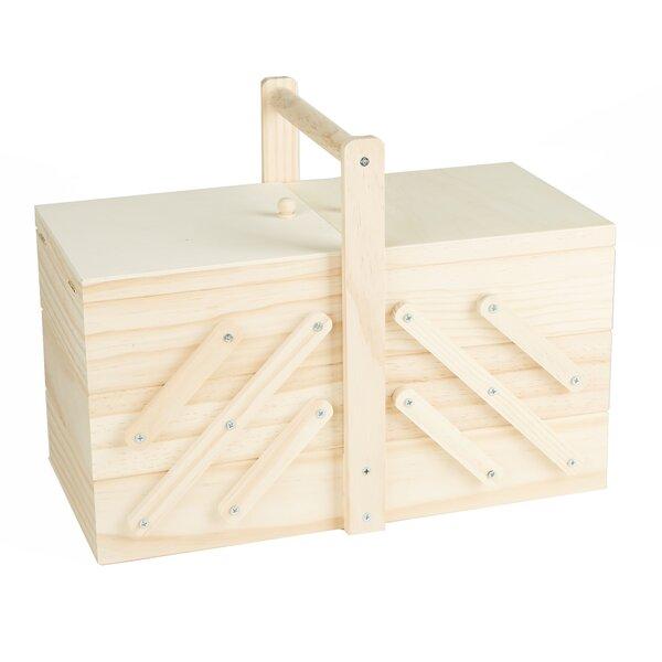 Vintage Wood Tool Box Wayfair