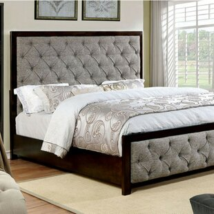 Solis Contemporary Upholstered Bed by Alcott Hill
