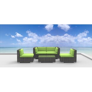 Rio 5 Piece Sofa Set with Cushions