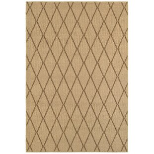 Carondelet Beige Indoor/Outdoor Area Rug