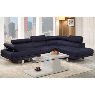 Best Price Sophia Sectional by A&J Homes Studio Reviews (2019) & Buyer's Guide